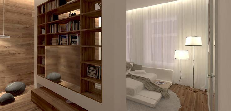 غرفة نوم تنفيذ A-partmentdesign studio