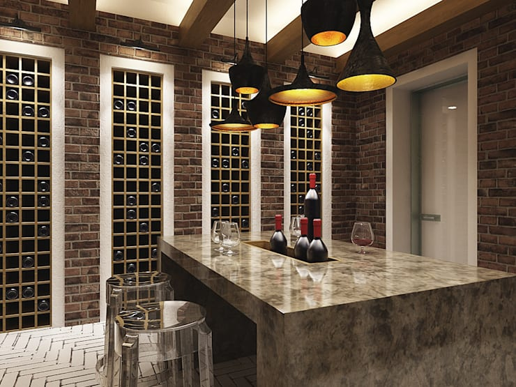 Wine cellar by A-partmentdesign studio