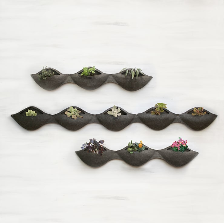 Modular de Pared: Jardines de estilo  por Flor De Fieltro,
