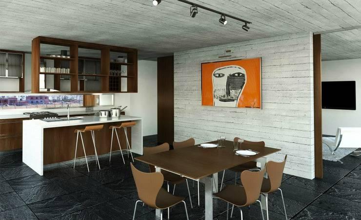 Dining room by Teje Estudio, Modern