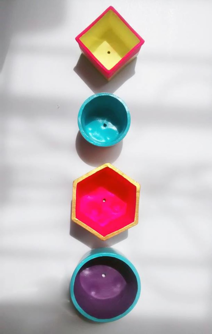 Materos:  de estilo  por Azul Bondí, Rústico