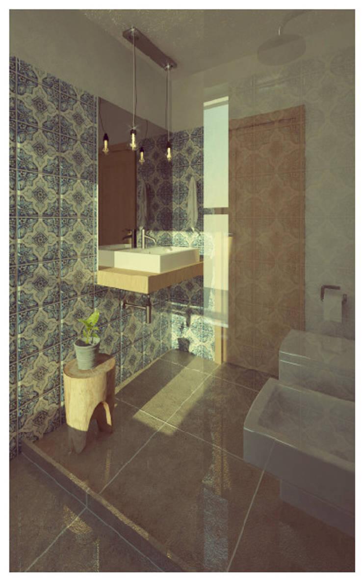 Diseñando un Baño: Baños de estilo  por VI Arquitectura & Dis. Interior