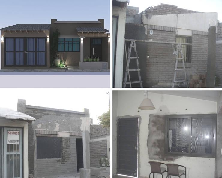 Reubicación de la puerta principal de Mora Arquitectura y Diseño Moderno