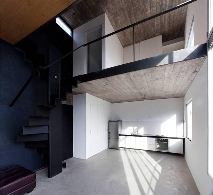 Obras Anteriores: Livings de estilo  por arquitectos nomaDe,Moderno