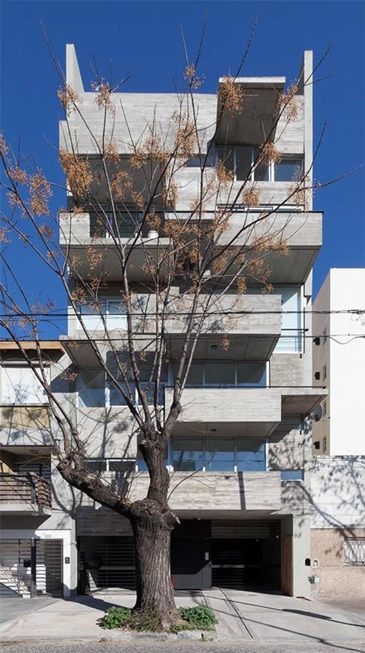 Obras Anteriores: Terrazas de estilo  por arquitectos nomaDe,Moderno