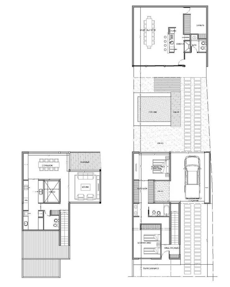 Damián y Celeste:  de estilo  por Estudio de Arquitectos Jafella Rodriguez