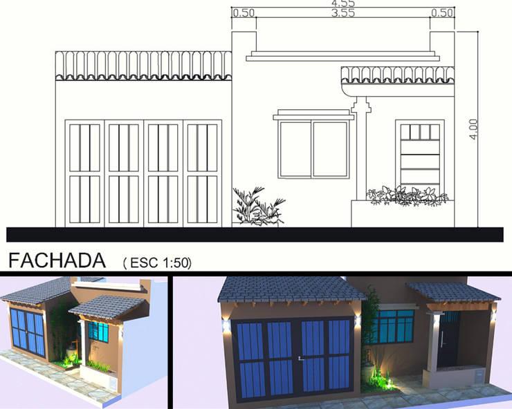 Fachada de Mora Arquitectura y Diseño Moderno