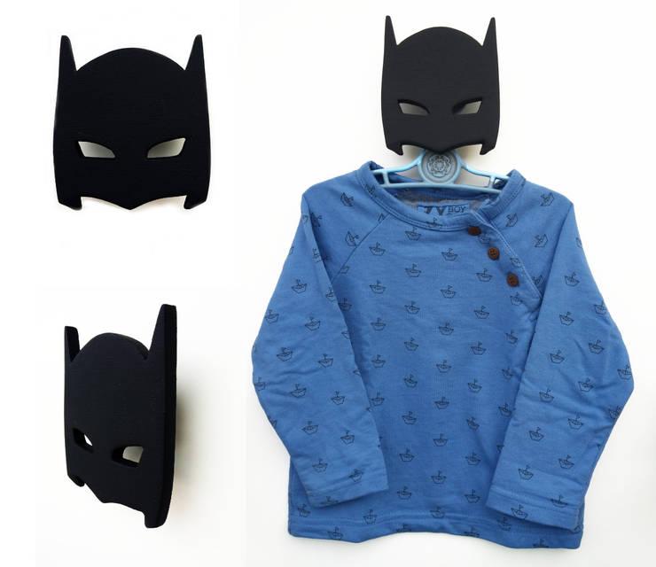 Cabide Batman Máscara: Quarto de crianças  por MAMY