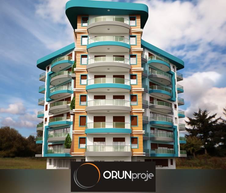 ORUNproje – Defne Konutları:  tarz Evler