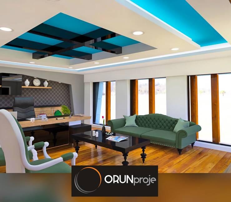 ORUNproje – Mansion Ofis:  tarz Ofis Alanları, Endüstriyel