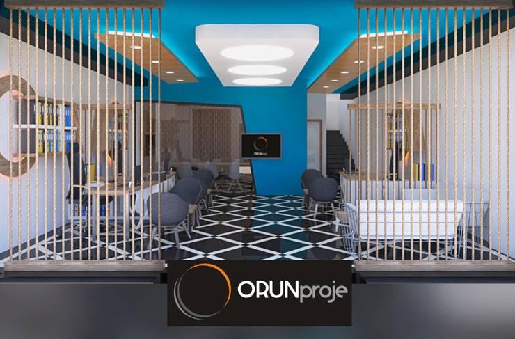 ORUNproje – Mansion Ofis:  tarz Ofis Alanları, Modern