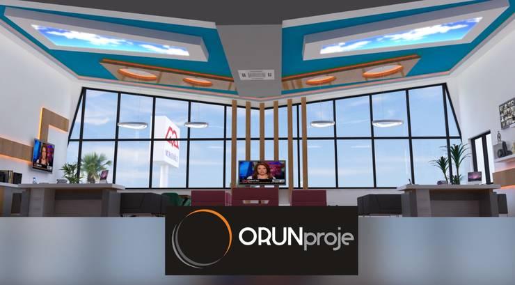 ORUNproje – Muratoğlu Emlak Ofisi:  tarz Ofis Alanları, Modern