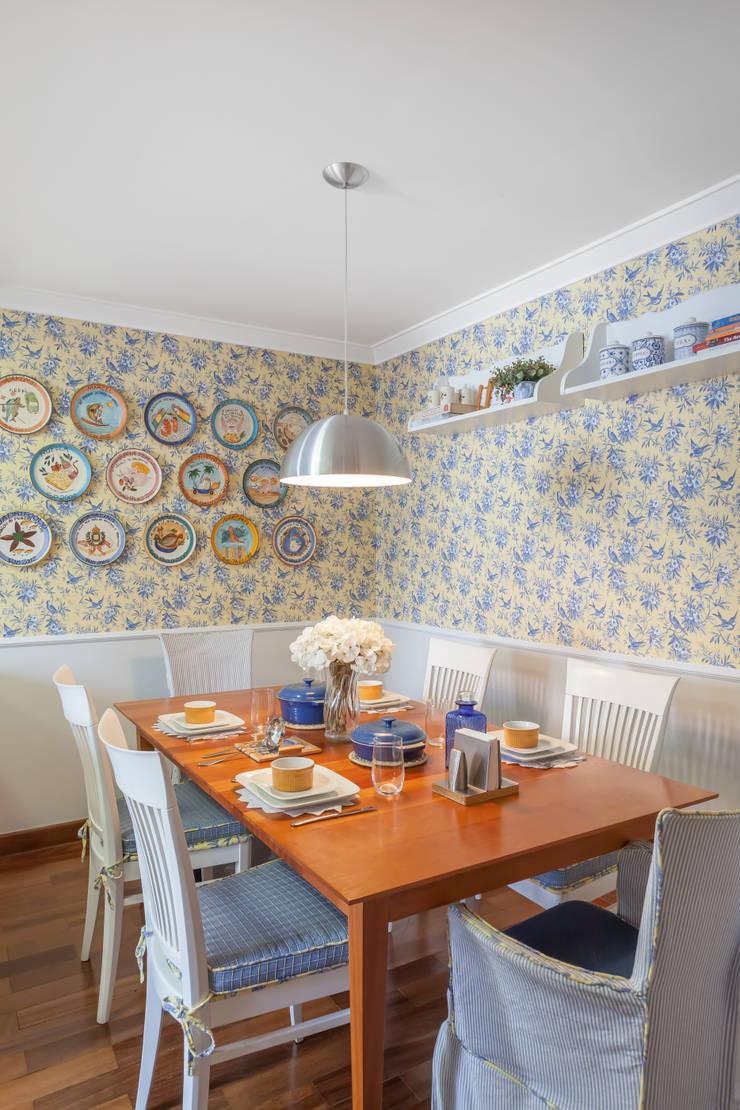 Cocinas de estilo ecléctico de Piloni Arquitetura Ecléctico