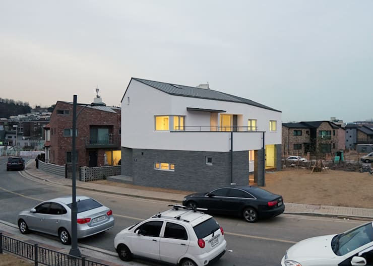 Houses by IDÉEAA _ 이데아키텍츠