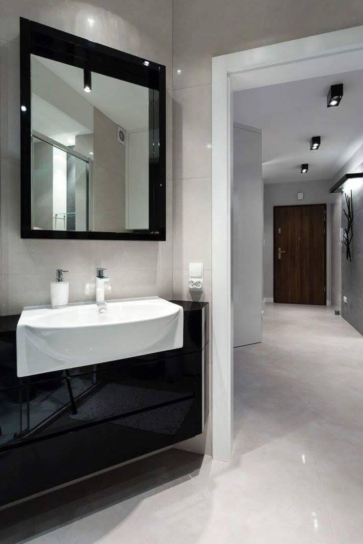 Apartament Rzeszów : styl , w kategorii Łazienka zaprojektowany przez Leo Minor ,Nowoczesny