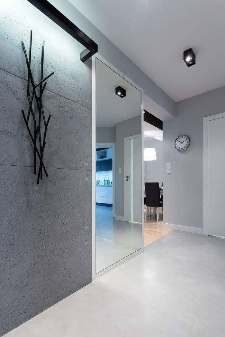 Apartament Rzeszów : styl , w kategorii Korytarz, przedpokój zaprojektowany przez Leo Minor ,Nowoczesny