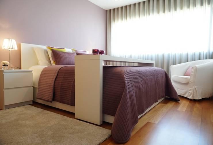 Apartamento V.N. de Gaia: Quartos  por Kohde