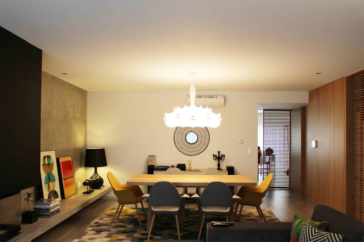 CV Interiors - sala de jantar: Salas de jantar  por Artspazios, arquitectos e designers