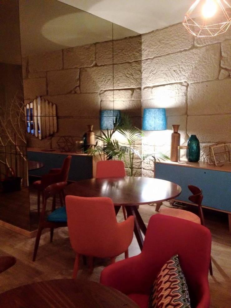 Gito: Espaços de restauração  por Bárbara abreu Arquitetos