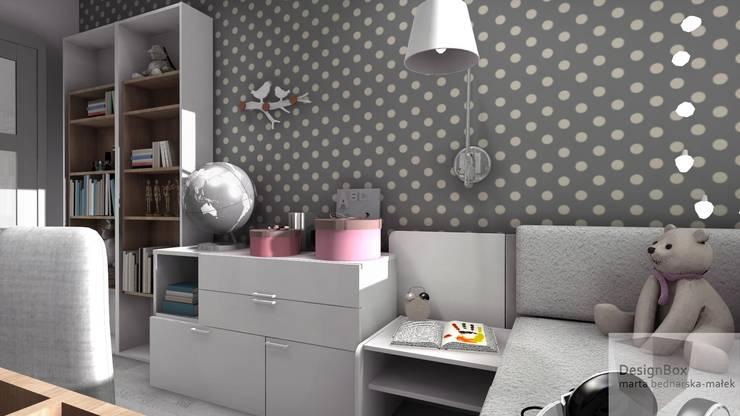 Pokój Lenki: styl , w kategorii Pokój dziecięcy zaprojektowany przez Designbox Marta Bednarska-Małek,Nowoczesny
