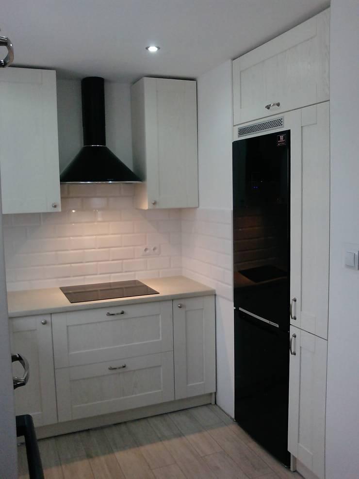 Nasze projekty 1: styl , w kategorii Kuchnia zaprojektowany przez F.H.U DEKOR Adam Jankowski,Nowoczesny