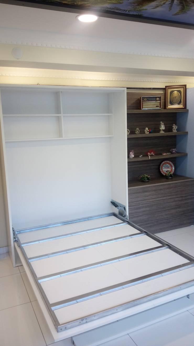 FMS Mobilya Deco – Hareketli yatak 4:  tarz Yatak Odası