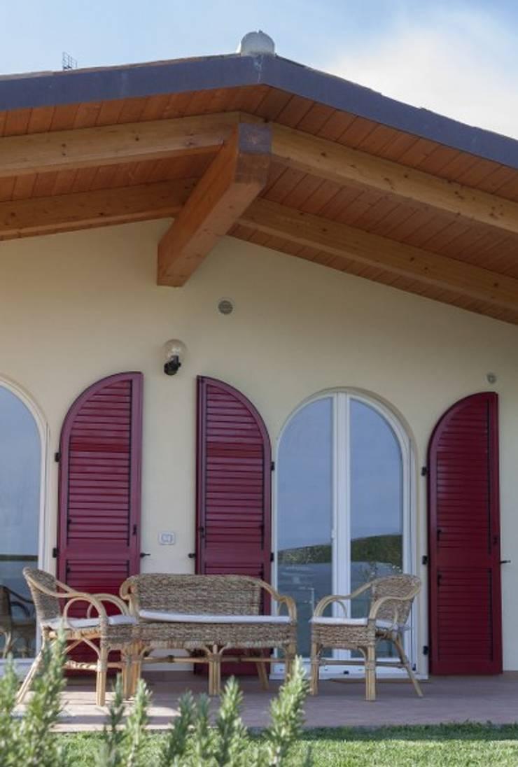 Casa in legno con tecnologia xlam finnjoist by protek srl for Case in legno xlam