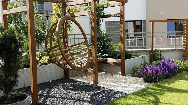 hustawka ogrodowa: styl , w kategorii  zaprojektowany przez Ogrodowa Sceneria,Śródziemnomorski
