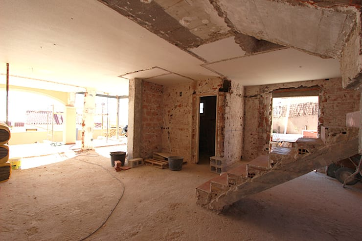 Projekty,  Ściany zaprojektowane przez Novodeco
