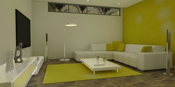 Living room by ArqDecor