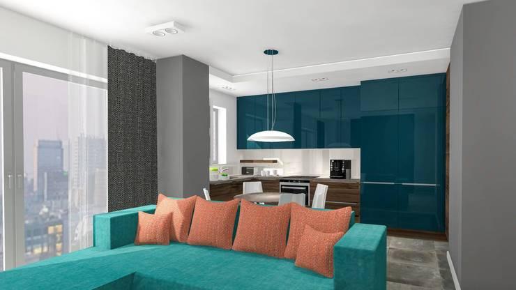 Modern style kitchen by Justyna Kurtz Modern