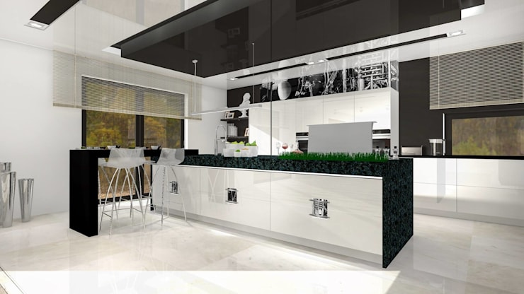 Kitchen by Justyna Kurtz, Modern