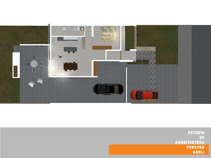 Houses by Estudio de Arquitectura Pereyra Kohli