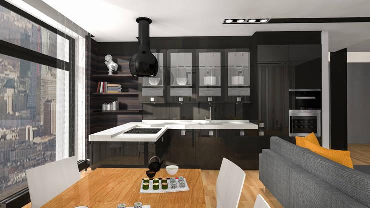 Klasycznie: styl , w kategorii Kuchnia zaprojektowany przez Justyna Kurtz,Eklektyczny