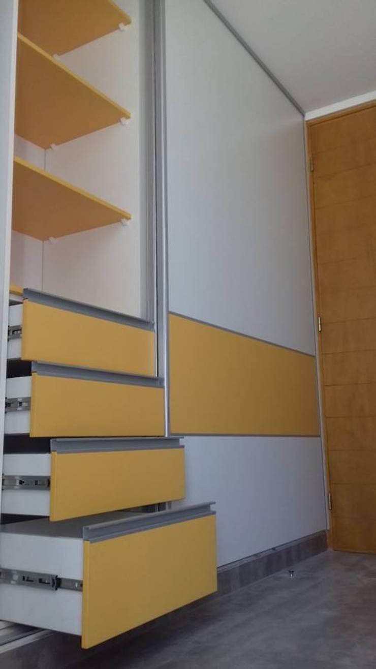 Aurea Arquitectura y Amoblamientos의  침실