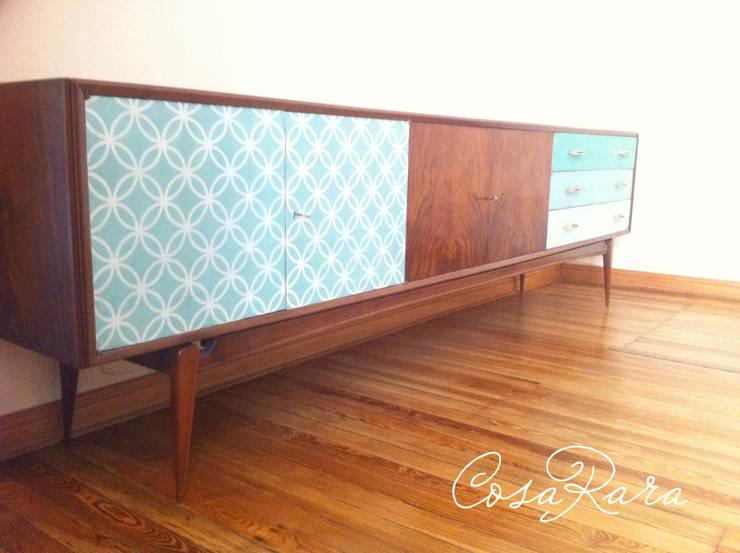 MUEBLES RECICLADOS: Comedores de estilo  por CosaRara Muebles Reciclados