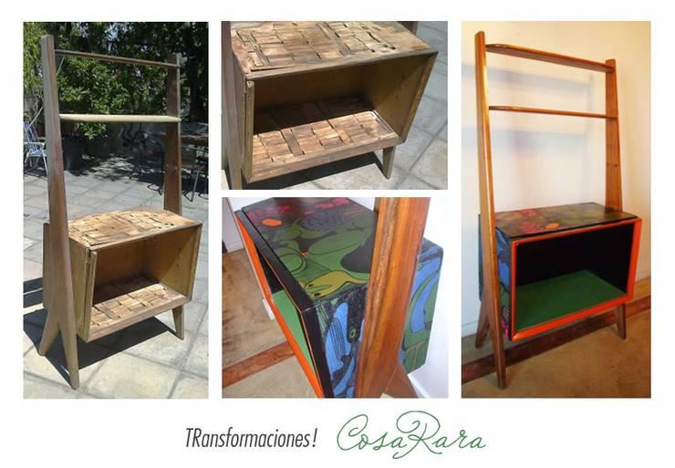 MUEBLES RECICLADOS: Estudio de estilo  por CosaRara Muebles Reciclados
