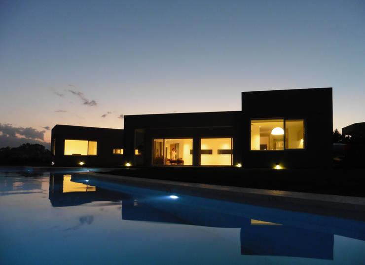 San Marco Casas modernas: Ideas, imágenes y decoración de Laboratorio de Arquitectura y Diseño Moderno Ladrillos