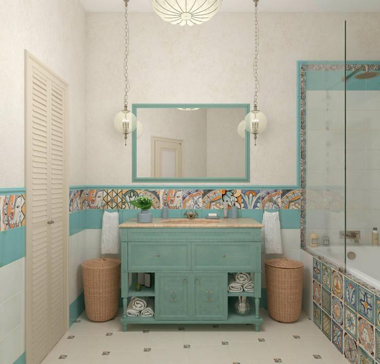 Bathroom by Студия дизайна Дарьи Одарюк