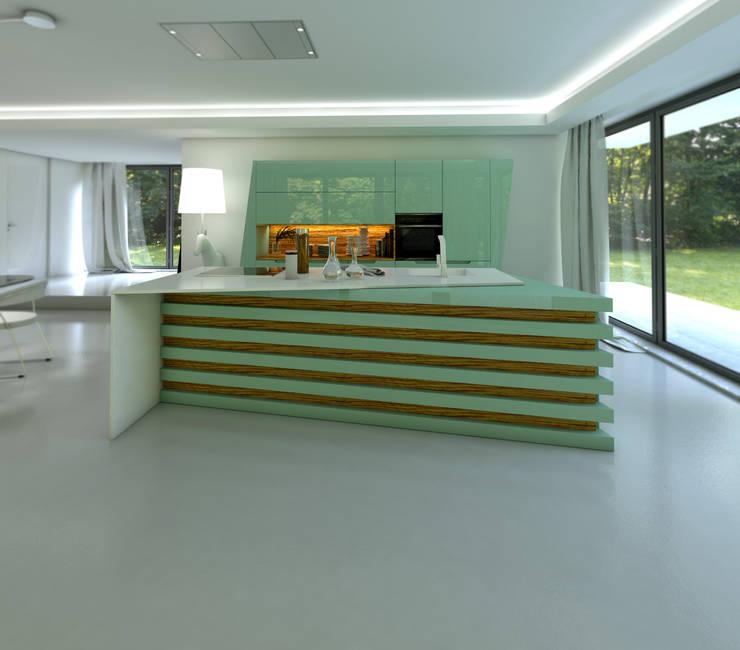 Olive: Cozinha  por J.Dias