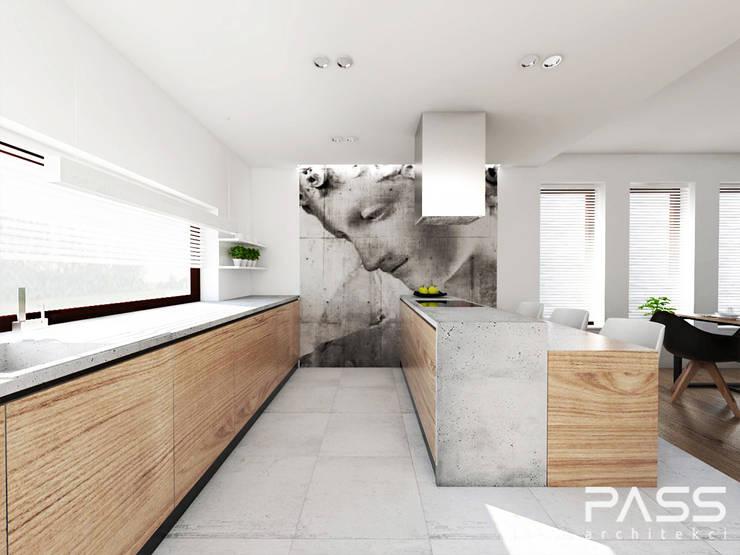 ห้องครัว โดย PASS architekci,