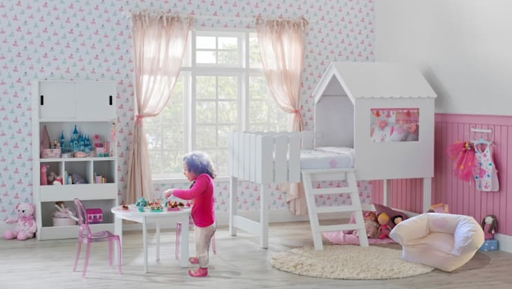Puff pequeno: Quarto de crianças  por Textilpuff