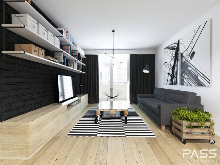 غرفة المعيشة تنفيذ PASS architekci