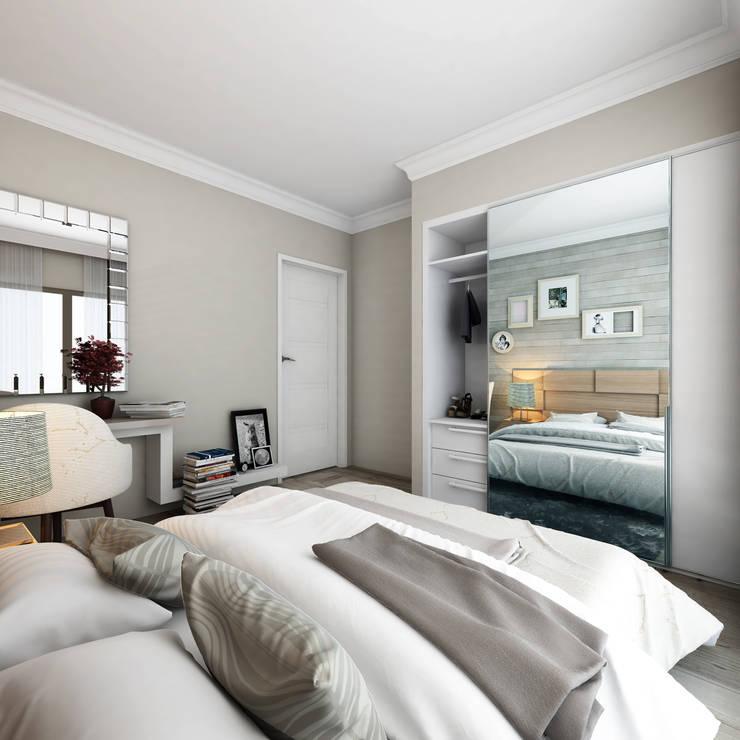 Bedroom by MİNERVA MİMARLIK