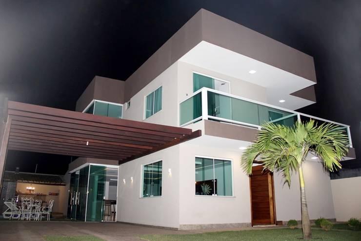 Projekty,  Domy zaprojektowane przez TL Arquitetura e Interiores
