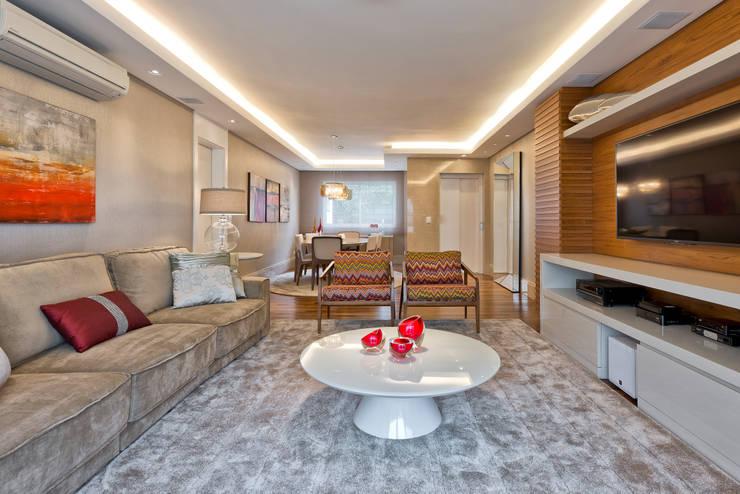 modern Living room by VL Arquitetura e Interiores