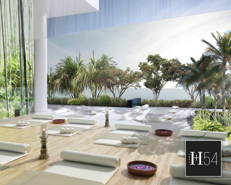 Canvas, Miami.: Hoteles de estilo  por Home54,