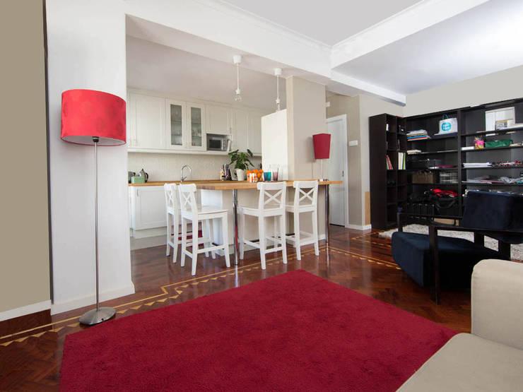 Remodelação de cozinha: Cozinhas  por Architect Your Home