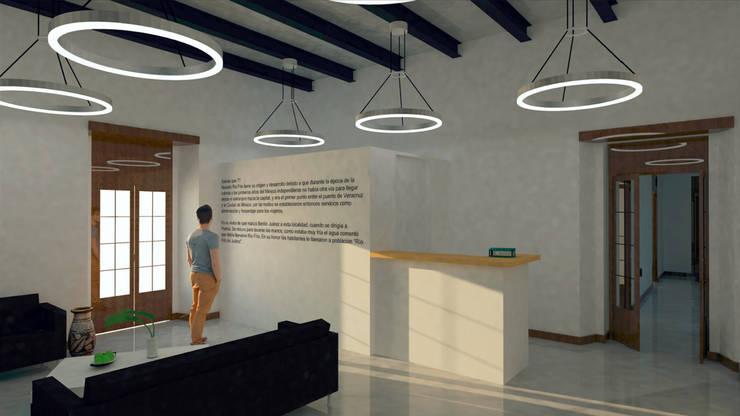 Conjunto Parroquial San Diego De Alcala: Salas de estilo  por Taller Esencia