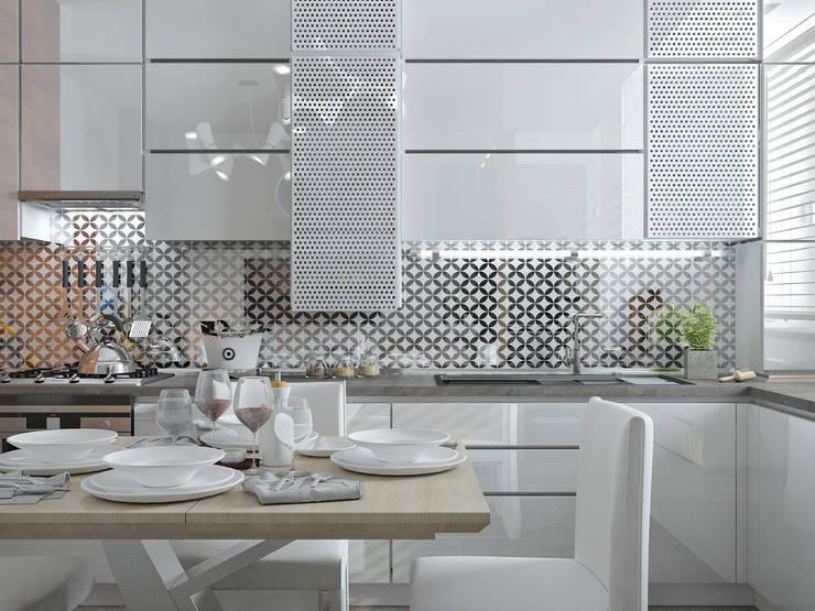 Cocinas de estilo  de Yurov Interiors